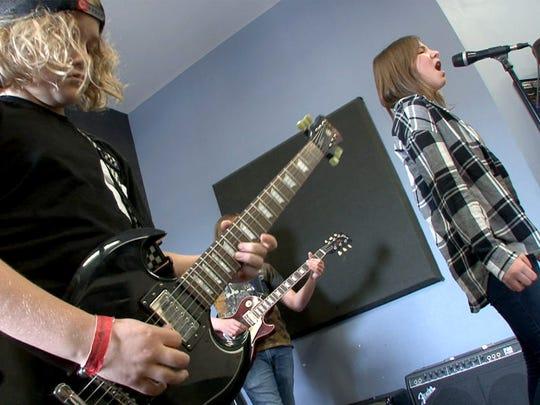 'Lake House Junior Pros' members Oliver Van Nostrand,