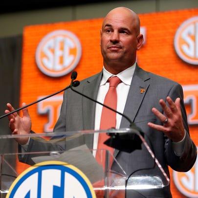 Tennessee NCAA college football head coach Jeremy Pruitt