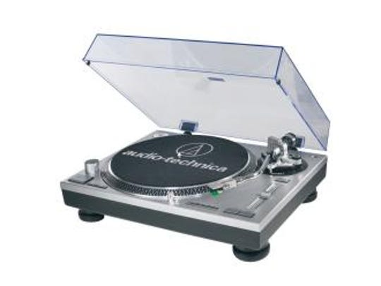 AT-LP120-USB direct-drive professional turntable by Audio-Technica.