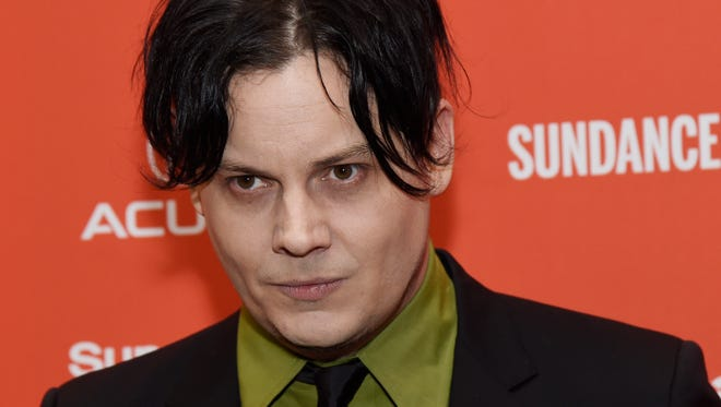 """Musician Jack White, an executive producer of """"American Epic,"""" poses at the premiere of the four-part PBS music documentary series at the 2016 Sundance Film Festival on Thursday, Jan. 28, 2016, in Park City, Utah. (Photo by Chris Pizzello/Invision/AP)"""