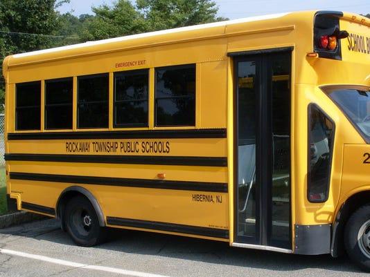 Rockaway Township Public School Bus