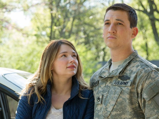 """Miles Teller and Haley Bennett star in """"Thank You For"""