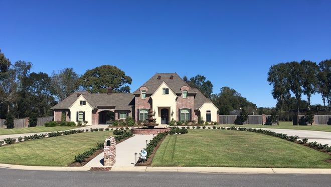 This 4 bedroom, 4 1/2 bath home is located at 122 Western Lane in Lafayette. It is listed at $1,275,000.