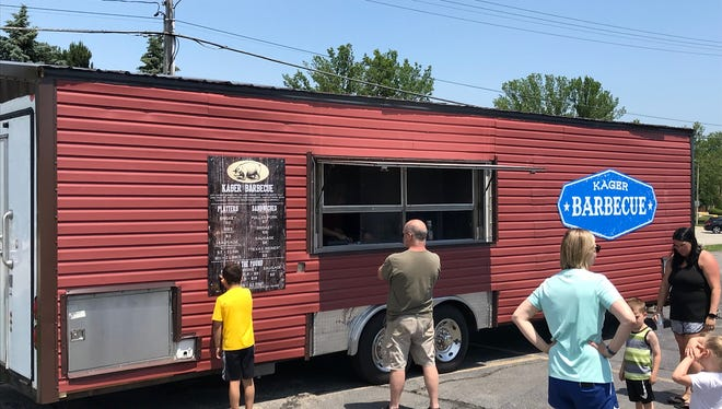 Kager Barbecue is now open for the summer. The new food truck will be offering authentic southern barbecue from Kansas City native Kevin Kager.