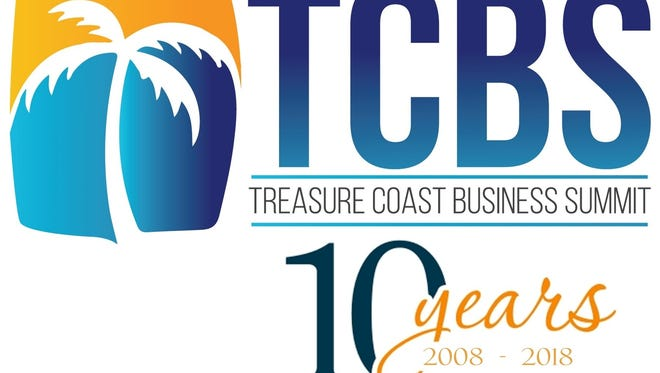 The Treasure Coast Business Summit takes place 10 a.m. to 4 p.m., Thursday, May 17, at the Port St. Lucie Civic Center.