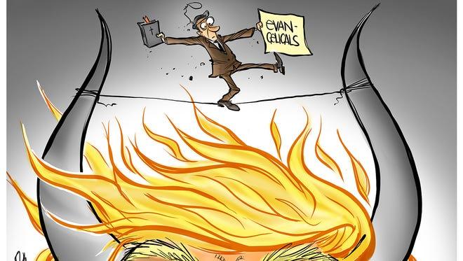 Trump and evangelicals