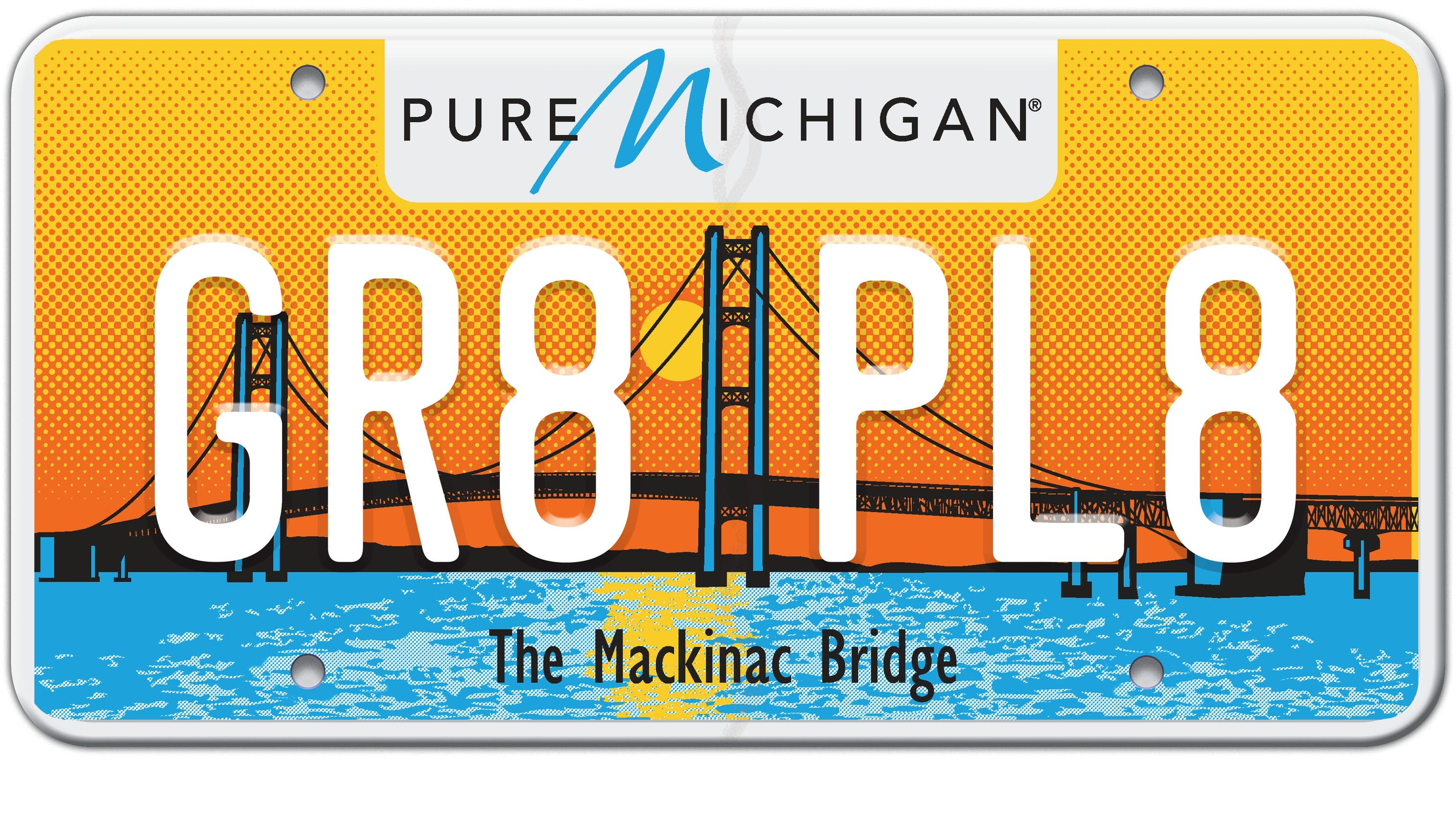 Michigan redesigns license plate after complaints