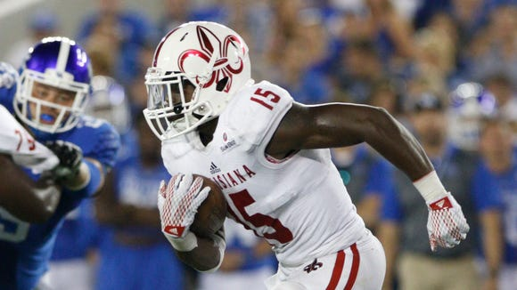 Running back Elijah McGuire, the 2014 Sun Belt Offensive Player of the Year, opted to return to UL Lafayette in 2016 for his senior season.