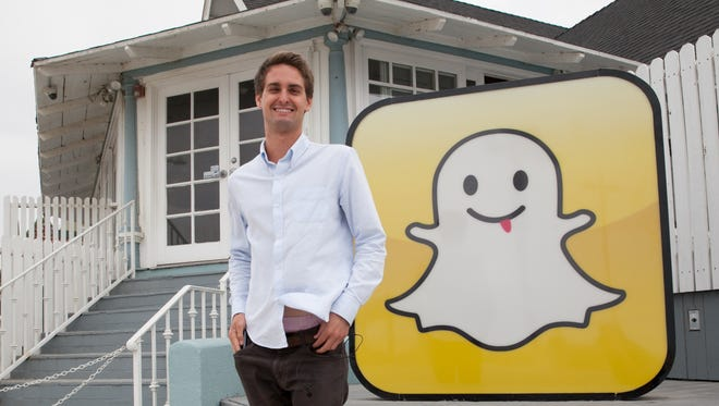 Snapchat CEO and co-founder Evan Spiegel at  Venice, CA headquarters.