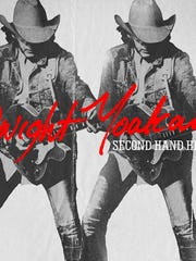 """The cover of Dwight Yoakam's """"Second Hand Heart."""""""