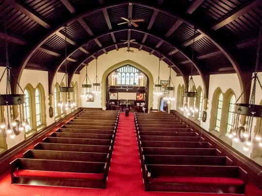 Caledonia Memorial United Methodist Church is one of