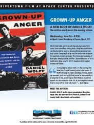 Flier for an upcoming talk about Daniel Wolff's book,