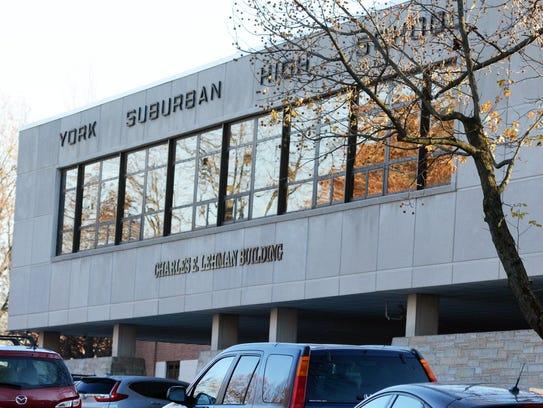 York Suburban High School Tuesday, Nov. 28, 2017. Bill