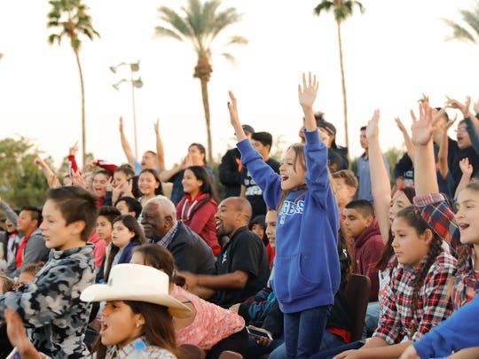 Many attending their very first rodeo, children from the Boys and Girls Club of Coachella Valley had a wonderful time at Eisenhower Medical Center's Ride for the Brand event.