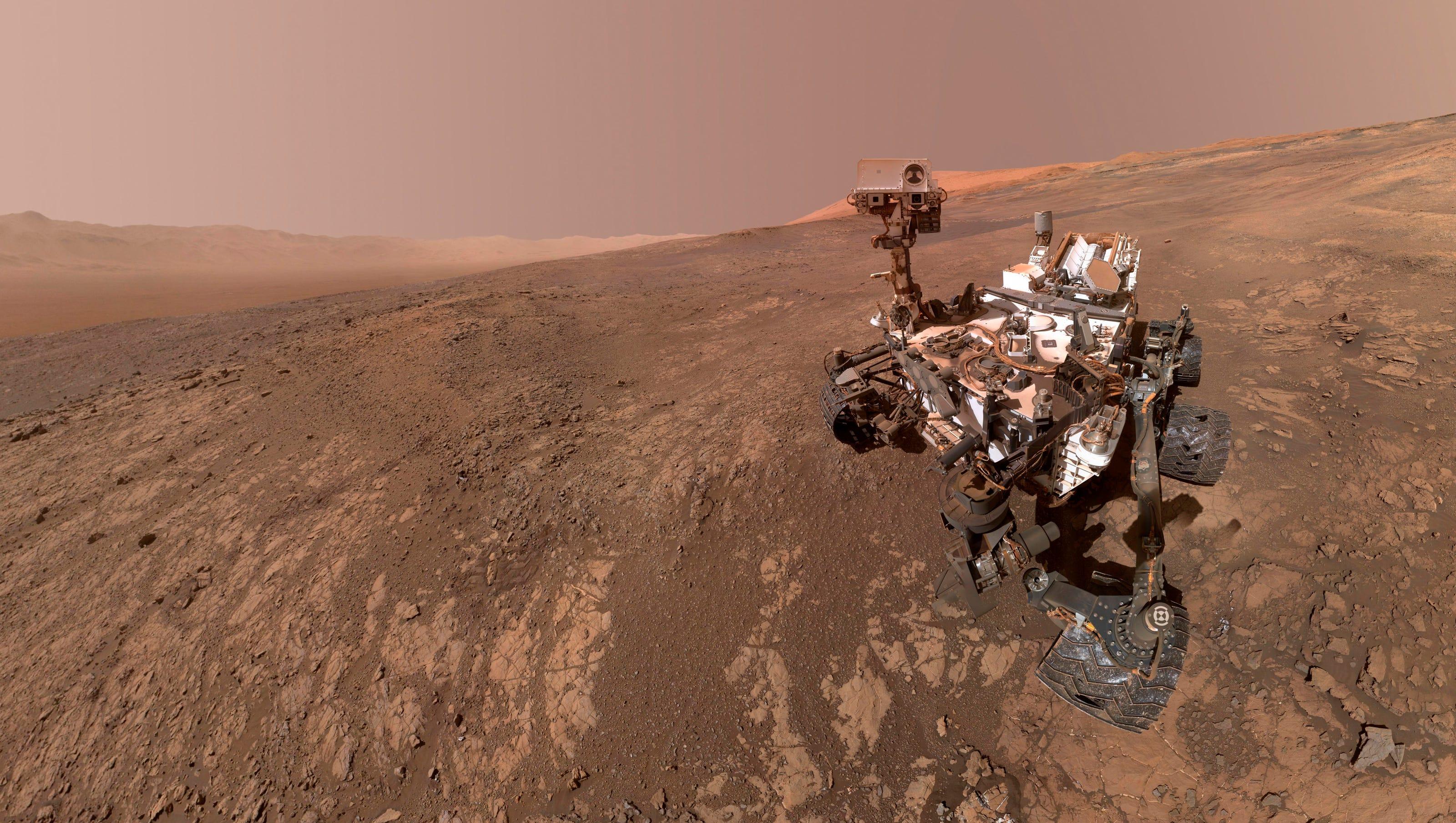 Nasa Mars Live