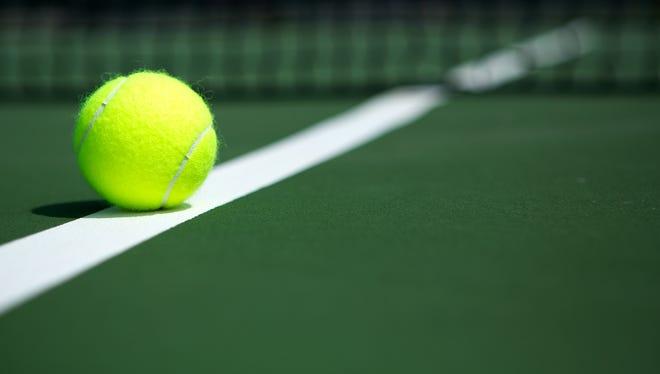 High school girls tennis.