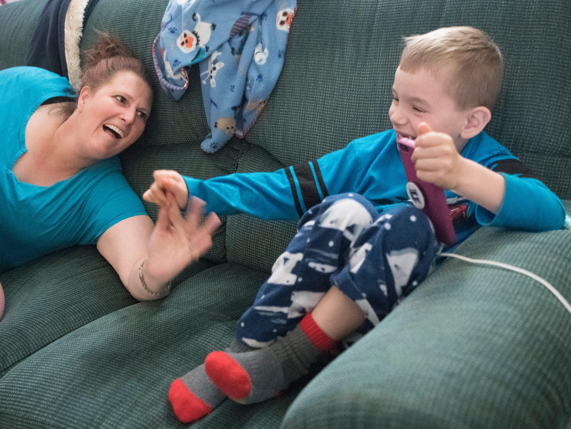 Desiree Rackley tries to get her nephew Joe Joe Rackley's