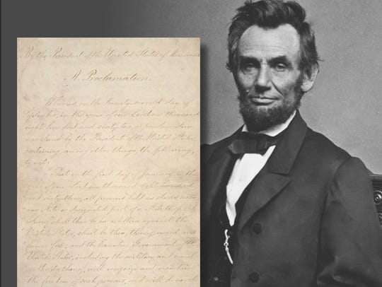The  Emancipation Proclamation Background: President