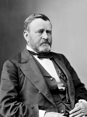 Ulysses S. Grant, the 18th president of the United States.