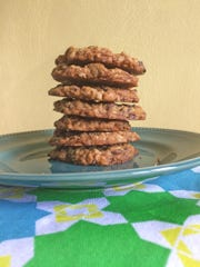 Oatmeal cookies are a favorite variety.