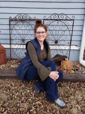 Dodge City native Camryn Youngers, a junior at Fort Hays State University, was awarded a $1,500 Douglas A. Laue Memorial Scholarship by the Kansas Livestock Foundation.