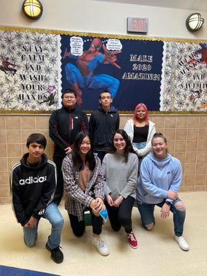 A group of 10 Dodge City High School debaters won medals competing this past weekend while helping their team claim trophies at meets hosted by Liberal and Nickerson High Schools. Medal winners include Brennan Carbajal, Vivian Nguyen, Xania Cobian, Payton Dunn, Brian Nguyen, Joel Soto and Yesenia Guzman. Not pictured are Paris Rivas, Salvador Martinez and Maybelline Morales.