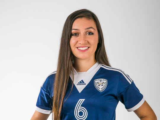 Brianna Garcia in the Naples Daily News studio on Wednesday,