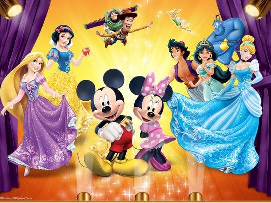 """Disney Live! Mickey & Minnie's Doorway to Magic"" will"