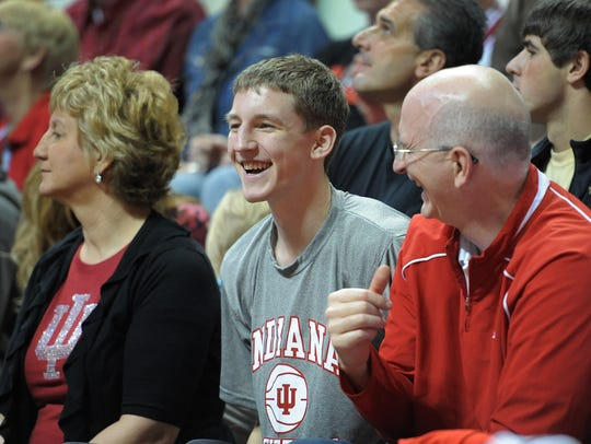 FILE –Cody Zeller's commitment to IU was a huge in-state