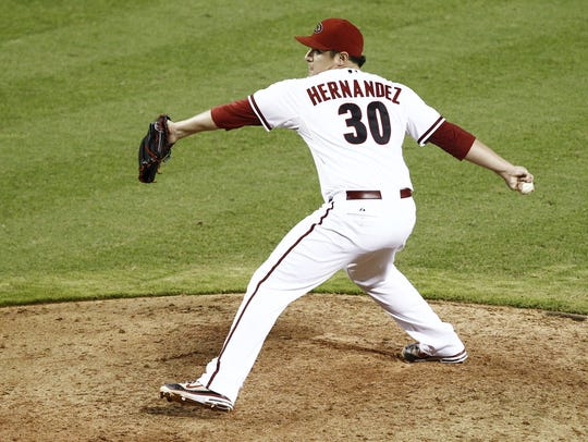 David Hernandez held a critical eighth-inning role