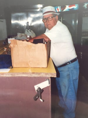 Leo Stapleton often worked behind the scenes at Chemung Speedrome, which is co-owned by his son, Bob Stapleton.
