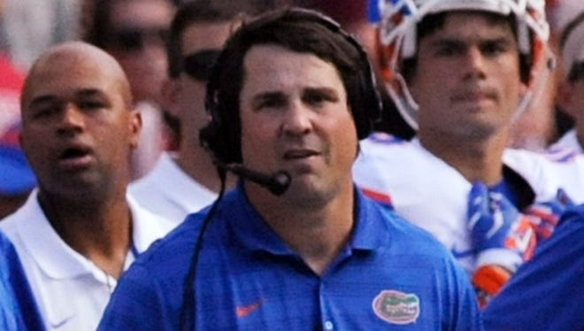 Former Florida coach Will Muschamp is considering a deal to become Auburn's next defensive coordinator.