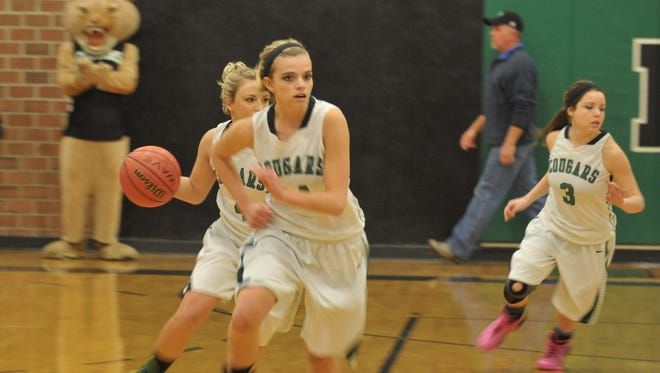 Mountain Heritage's girls basketball team is 21-0.