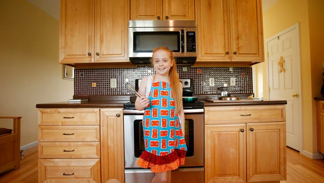 "Horseheads resident Cassidy Tryon, 12, competed recently on ""Chopped Junior,"" a Food Network television show."