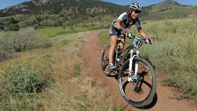 The 40 in the Fort endurance mountain bike race features two 20-mile laps in Lory State Park, featuring 4,500 feet of elevation gain.