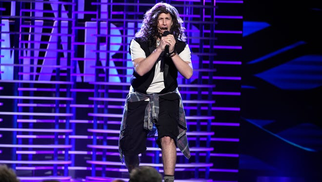 Andy Samberg sings a parody of Pearl Jam's 'Alive' to celebrate actors who are, um, still alive.
