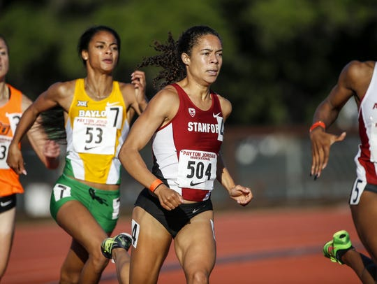 Stanford University's Claudia Saunders, a 2012 Princeton
