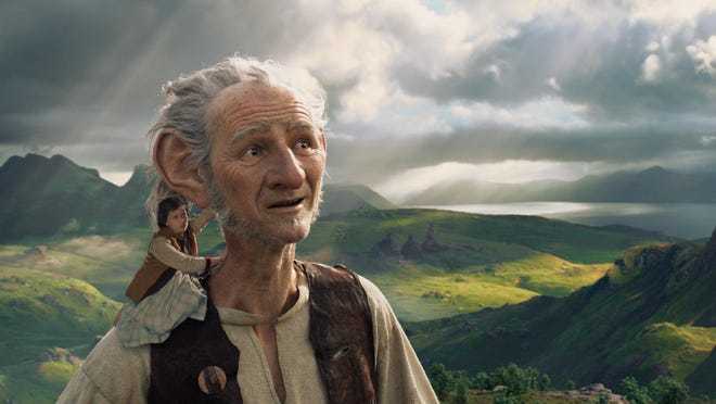 """In Disney's fantasy-adventure """"The BFG,"""" directed by Steven Spielberg and based on Roald Dahl's beloved classic, a precocious 10-year old named Sophie (Ruby Barnhill) befriends the BFG (Mark Rylance), a Big Friendly Giant from Giant Country."""