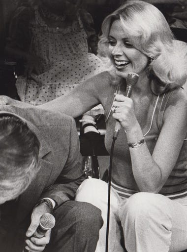 Mary Jo West and Ken Coy appear on the Jerry Lewis Telethon in 1980.