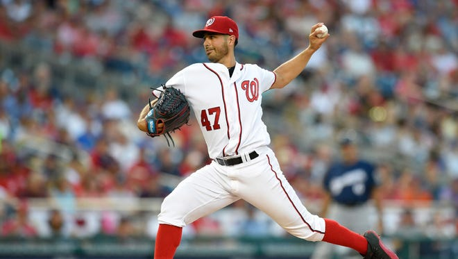 It's still unclear what Gio Gonzalez's role will be with the Brewers. The former Nationals pitcher struggled in August.