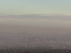 View of haze over downtown Phoenix from South Mountain