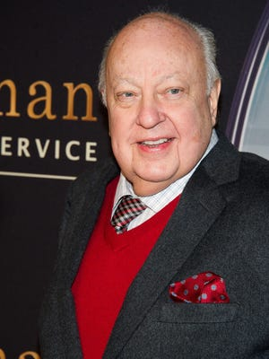 "In this Feb. 9, 2015 file photo, Roger Ailes attends a special screening of ""Kingsman: The Secret Service"" in New York."