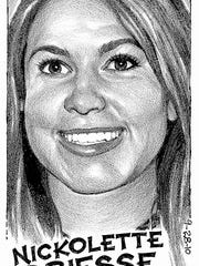 Nickolette Driesse was female athlete of the week in