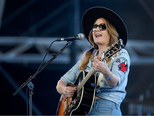 Margo Price performs at the Stagecoach country music