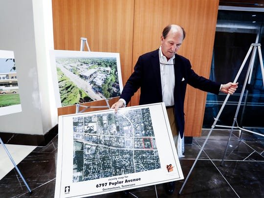 TraVure  developer Ray Gill, sets out renderings of
