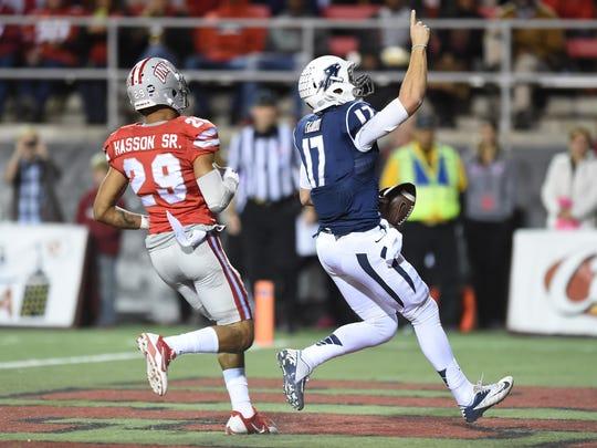LAS VEGAS, NV - NOVEMBER 29:  Quarterback Cody Fajardo