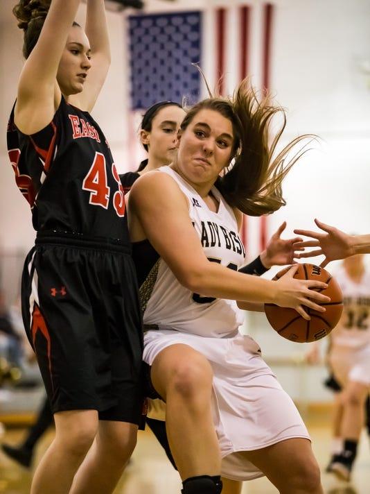East Rockingham at Buffalo Gap Girls Basketball