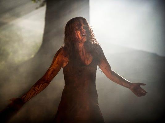 Chloe Moretz as 'Carrie'