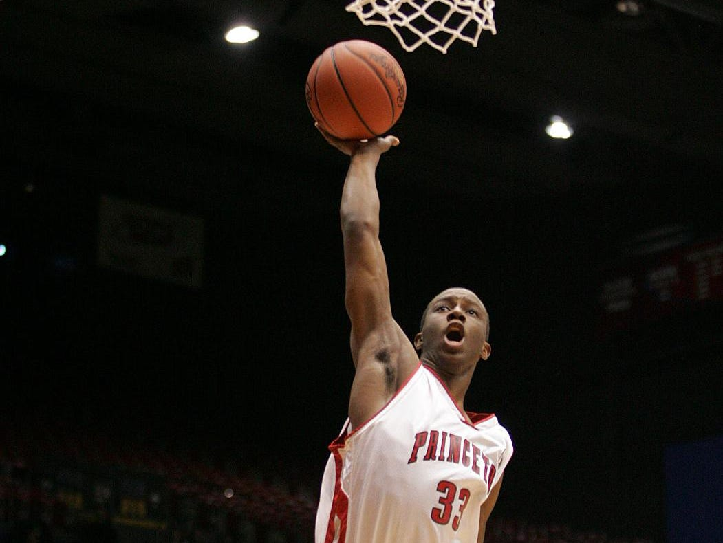 Jordan Sibert, a 2009 graduate of Princeton, will be one of the new members inducted into the school's hall of fame.
