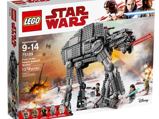 The Lego First Order Heavy Artillery Walker from 'The
